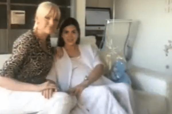 Η πρώτη φωτογραφία της Σταματίνας Τσιμτσιλή μέσα από το μαιευτήριο! Ευτυχισμένη με τον γιο της και τον άντρα της! (video)