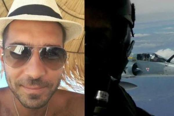 Πένθος στο Facebook για τον ήρωα πιλότο: Η κίνηση στο προφίλ του που συγκινεί!