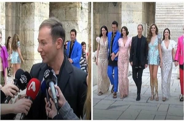 Συγκινημένος ο Βασίλειος Κωστέτσος: Έκανε επίδειξη μόδας στο Ηρώδειο! (Video)
