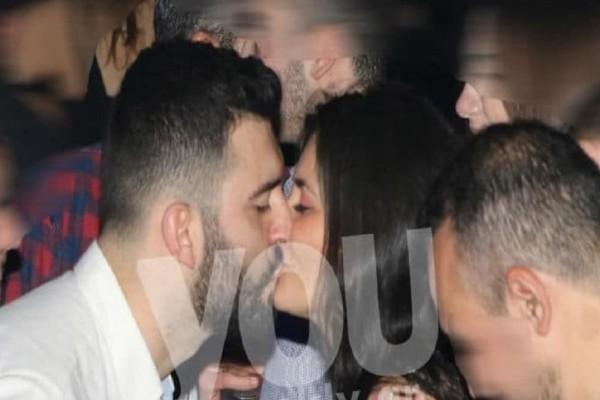 Θοδωρής Μισόκαλος: Τα «καυτά» φιλιά του αδερφού της Μενεγάκη με την σύντροφό του! (Photo)