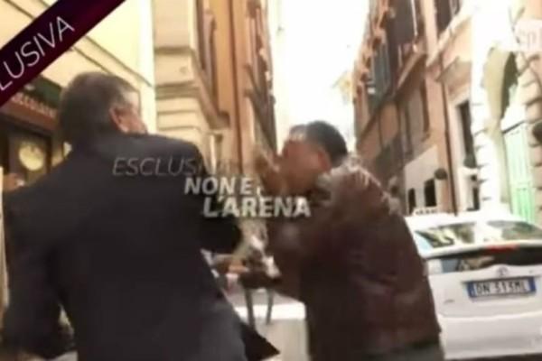 Απίστευτο περιστατικό: Πρώην Υπουργός χαστούκισε δημοσιογράφο κατά τη διάρκεια τηλεοπτικής συνέντευξης (video)