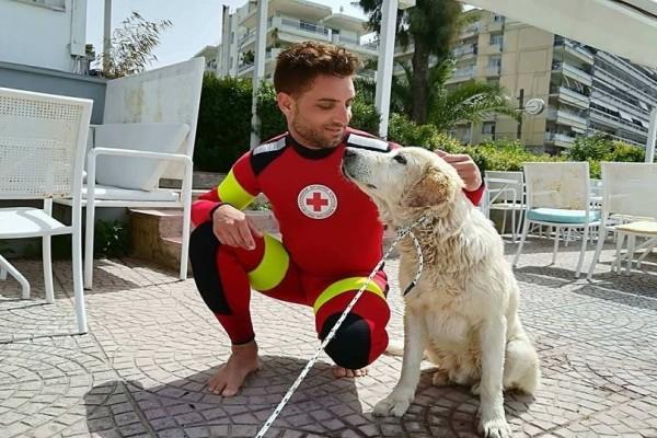 Πάτρα: Καρέ - καρέ η επιχείρηση διάσωσης σκύλου! - Έπεσε στην θάλασσα (Video)