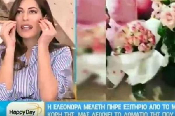 Ελεονώρα Μελέτη: Η Φλορίντα αποκάλυψε όλα τα χαρακτηριστικά του μωρού της! Δεν φαντάζεστε σε ποιον μοιάζει! (Video)