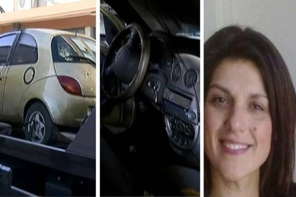 Νέες συγκλονιστικές φωτογραφίες από το αυτοκίνητο που ξεψύχησε η Ειρήνη Λαγούδη! Τι συμβαίνει τελικά με το κομποσκοίνι;