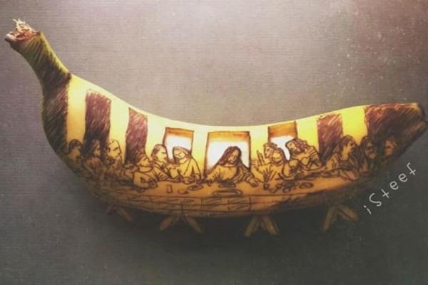 Εργα Τέχνης σε... μπανάνα! - Το αποτέλεσμα είναι μοναδικό (photos)