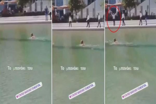 Θεούλης: Τύπος ζεστάθηκε και βούτηξε στα νερά του ιδρύματος
