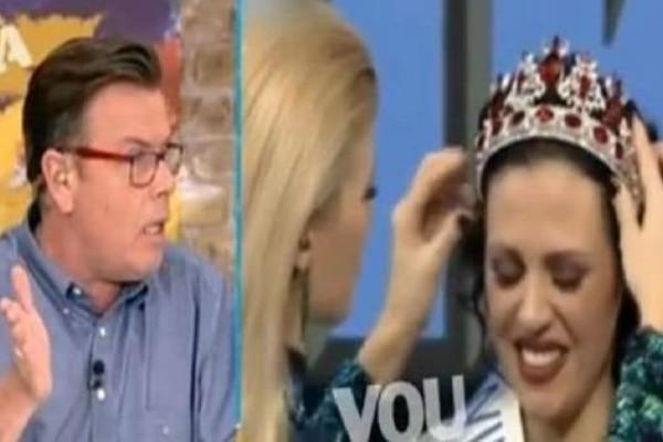 Ο Δημήτρης Παπανώτας ξεφτίλισε δημοσίως την Ραμόνα: «Εγώ δεν συχνάζω σε κ@λόμπαρα και στριπτιτζάδικα»! (Video)