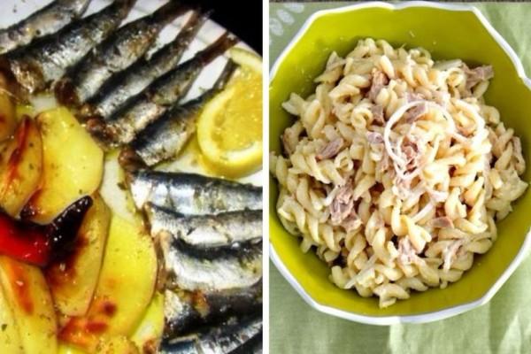 Δύο πεντανόστιμες συνταγές με ψάρι για την Κυριακή των Βαΐων!