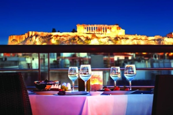 Best restaurants in Athens with view of the Acropolis