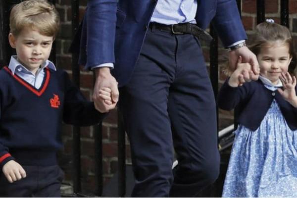 Ο πρίγκιπας Τζορτζ και η πριγκίπισσα Σάρλοτ πήγαν να γνωρίσουν το νεογέννητο αδελφό τους (video)