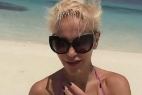 Το πιο «προκλητικό» βίντεο της Νατάσας Καλογρίδη! Δείτε την με μαγιό από τις Μαλδίβες...