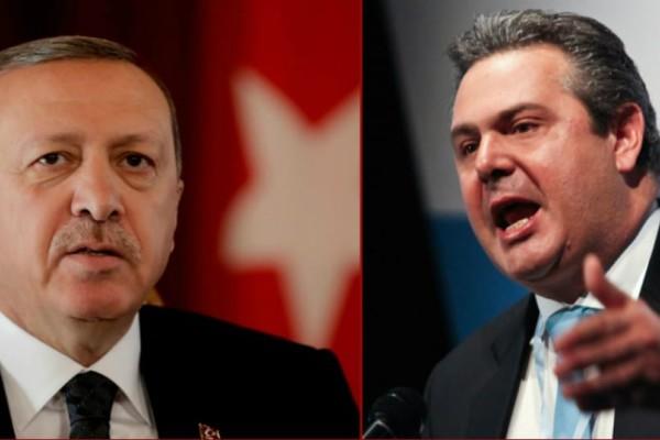 Απίστευτο ξέσπασμα Καμμένου κατά Ερντογάν: «Είναι τρελός, μπορεί να κρατήσει τους δύο στρατιωτικούς 15 χρόνια!»