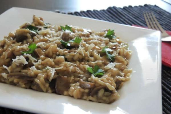 Ιταλική συνταγή: Ριζότο με μανιτάρια!