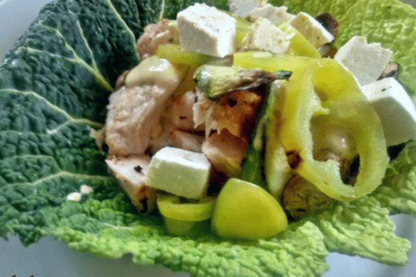 Υγιεινή συνταγή: Τυλιχτό
