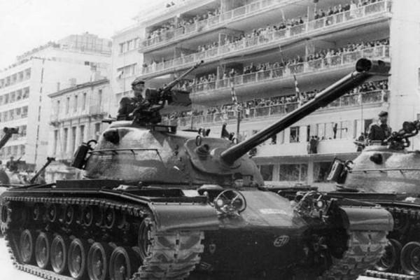 Σαν σήμερα 21 Απριλίου του 1967 το πραξικόπημα στην Ελλάδα: Όταν τα τανκς βγήκαν ξημερώματα στους δρόμους!