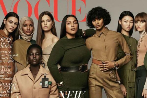 Γιατί το Ίντερνετ αποθεώνει αυτό το εξώφυλλο της βρετανικής Vogue