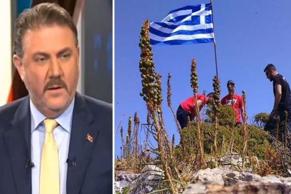 Οι τουρκικές προκλήσεις συνεχίζονται: Μαζέψαμε όλες τις σημαίες από τις βραχονησίδες και στείλαμε βίντεο στην Ελλάδα!