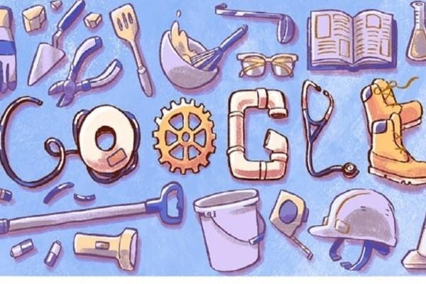 Πρωτομαγιά 2018: Αφιερωμένο στην Ημέρα Εργασίας το Doodle της Google!