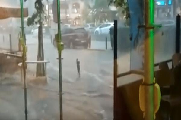 Σφοδρή κακοκαιρία πλήττει την Θεσσαλονίκη! - «Ποτάμια» οι δρόμοι από την χαλαζόπτωση! (Photo & Video)