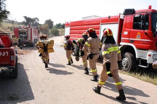Πυρκαγιά ξέσπασε σε εργοστάσιο ανακύκλωσης στον Ασπρόπυργο