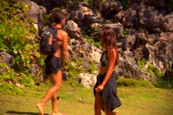 Survivor: Ξεφτίλα! Ο Χάρος πιάνει τα @@@@ του μπροστά στην Εύη! (video)