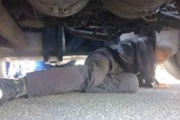 Απίστευτο περιστατικό! Μετανάστης εγκλωβίστηκε στον... άξονα φορτηγού