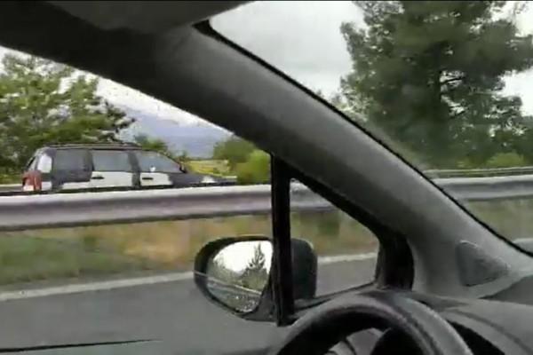 Πανικός στην Εθνική Κορίνθου - Τρίπολης: Οδηγούσε για χιλιόμετρα ανάποδα! (video)
