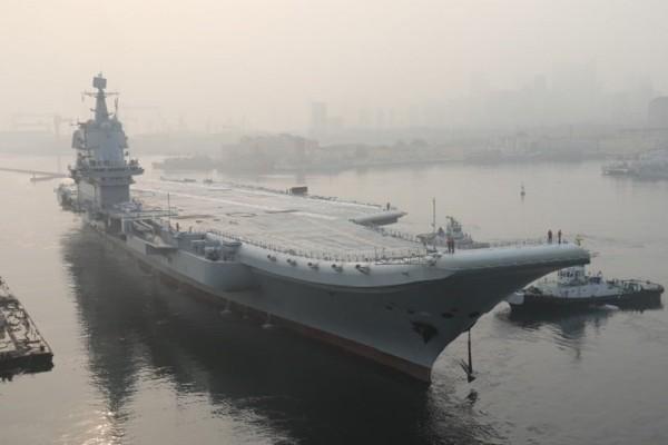 Εντυπωσιακό: Το πρώτο αεροπλανοφόρο κινεζικής κατασκευής ξεκίνησε τις θαλάσσιες δοκιμές! (Video)