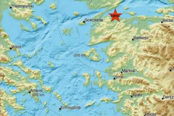 Σεισμός 3,2 Ρίχτερ στην Τουρκία!
