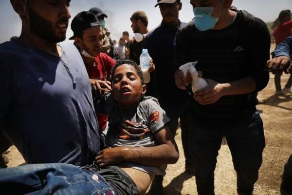 Παγκόσμιο σοκ από το αιματοκύλισμα στη Λωρίδα της Γάζας! - Οι Παλαιστίνιοι κηδεύουν τους 60 νεκρούς!