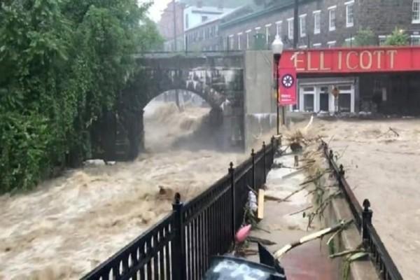 Σοκάρουν οι εικόνες καταστροφής στο Μέριλαντ (video)