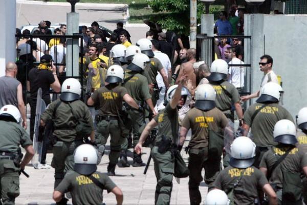 Χαμός στο κέντρο της Αθήνας!