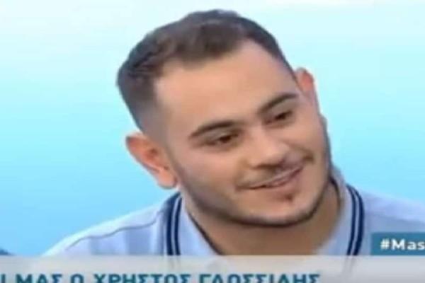 MasterChef: O Χρήστος Γλωσσίδης μιλά πρώτη φορά για την σύντροφό του! Η δημόσια ερωτική εξομολόγηση! (Video)