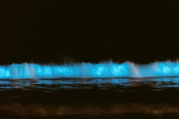 Απίστευτο: Μπλε λάμψη εμφανίσθηκε στις ακτές της Καλιφόρνια!