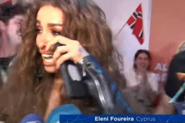 Eurovision 2018: Δακρυσμένη η Ελένη Φουρέιρα: