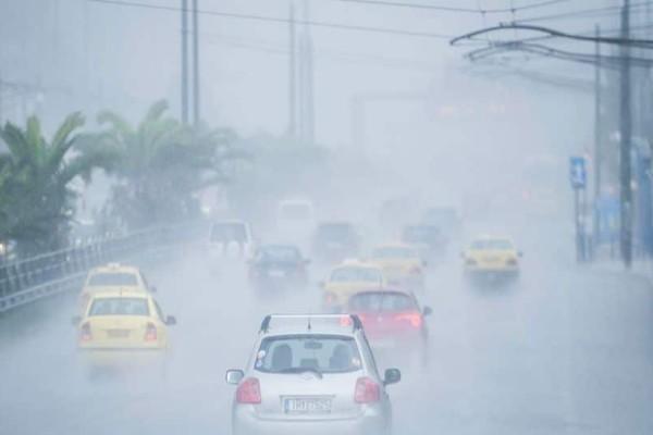 Έκτακτο δελτίο επιδείνωσης καιρού: Καταιγίδες και χαλάζι τις επόμενες ώρες!