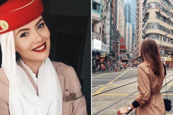 H αεροσυνοδός της Emirates με τις εντυπωσιακές φωτογραφίες στο Instagram… που έγιναν viral! (photos)