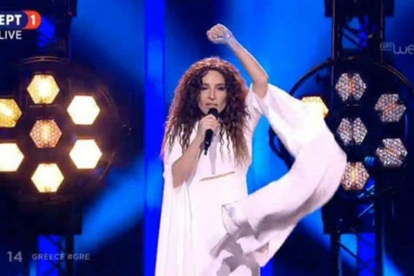 Eurovision 2018: Η καταπληκτική εμφάνιση της Γιάννας Τερζή! (video)