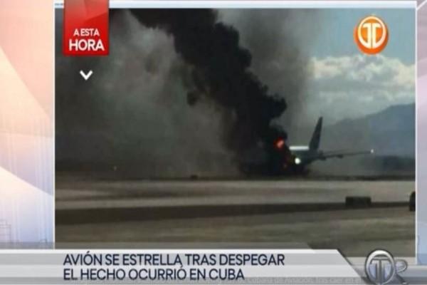 Τραγωδία στην Κούβα: Συνετρίβη αεροπλάνο - Πολλοί νεκροί!