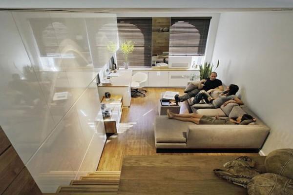 Δεν θα πιστεύετε ότι αυτό το διαμέρισμα είναι μόλις 46 τ.μ.! (photos)
