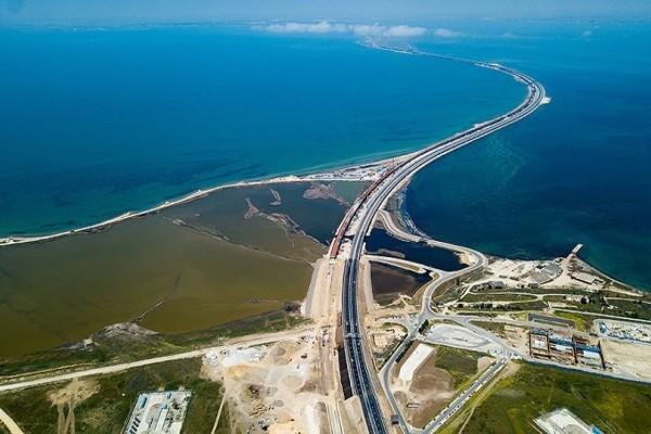 Άκρως εντυπωσιακό: Time-lapse από την κατασκευή της γέφυρας Κριμαία - Ρωσία! (Video)