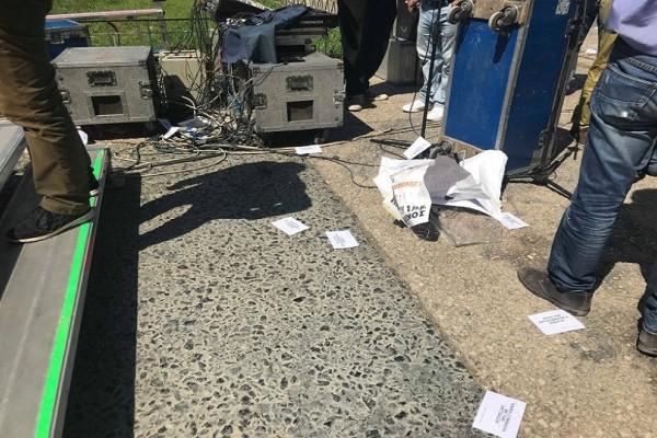 Κουκουλοφόροι επιτέθηκαν στη συγκέντρωση της ΑΔΕΔΥ! - Πέταξαν αυγά στους διαδηλωτές!