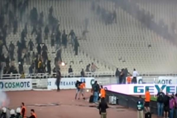 Απίστευτες σκηνές: Οπαδός χτύπησε ball-boy για να του πάρει την μπάλα! (Video)