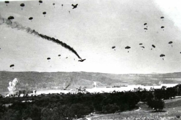 Βρέθηκαν ανθρώπινα οστά στη νησίδα όπου καταρρίφθηκε γερμανικό αεροσκάφος το 1941