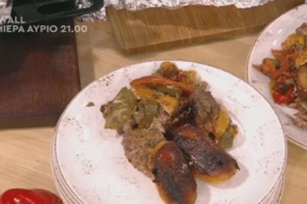 Εύκολη συνταγή: Χοιρινό με πατάτες στη λαδόκολλα!