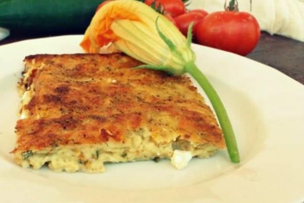 Γρήγορη συνταγή: Κολοκυθόπιτα χωρίς φύλλο με γιαούρτι!
