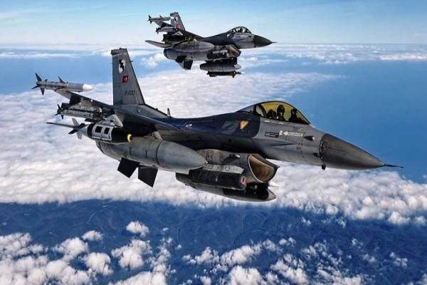 Συνεχίζονται οι τουρκικές προκλήσεις: Μια αερομαχία και 20 παραβιάσεις στο Αιγαίο!