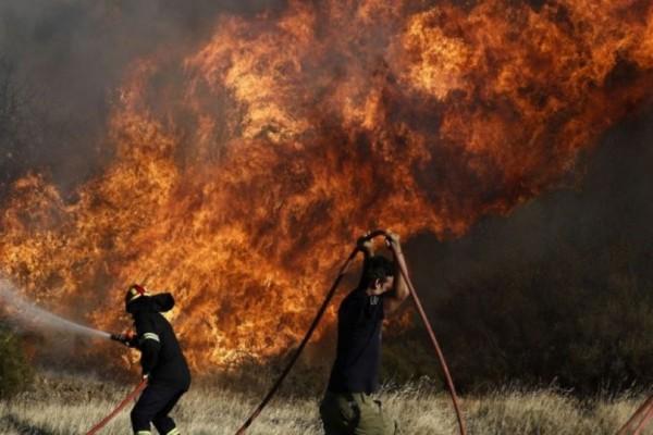 Ισχυρή πυρκαγιά στην Αλόννησο: Εκκενώθηκε ξενοδοχείο!