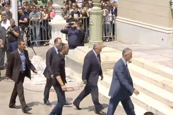Κηδεία Παύλου Γιαννακόπουλου: Παρών και ο Κώστας Καραμανλής!