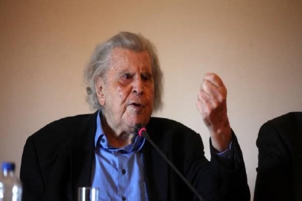 Σκοπιανό: O Μίκης Θεοδωράκης κάνει λόγο για πράξη ιστορικής ήττας και εθνικής μειοδοσίας!